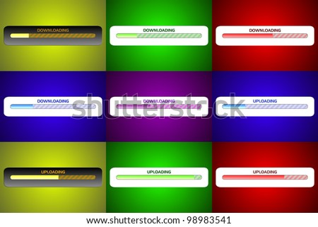 Downloading Uploading Screen Designs