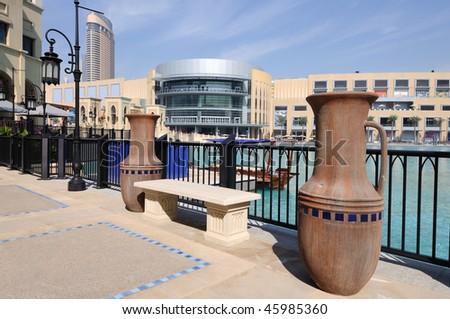 Downtown Burj Khalifa. Dubai United Arab Emirates