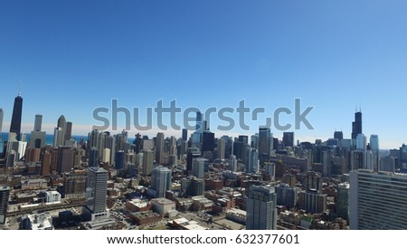 downtown Chicago #632377601