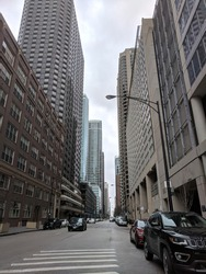 Downtown Chicago Illinois in Color