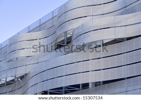 Downtown city buildings and modern corporate architecture