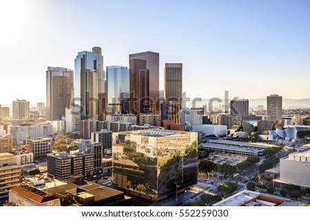 Downtown Cityscape Los Angeles, California, USA