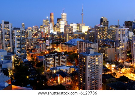 Downtown Core  - Toronto, Canada