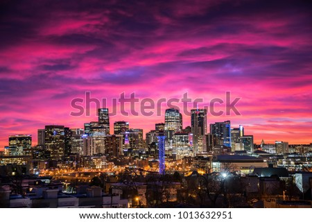 Downtown Denver Sunrise