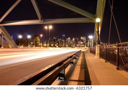 downtown denver through speer blvd, colorado