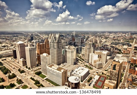 Downtown Detroit