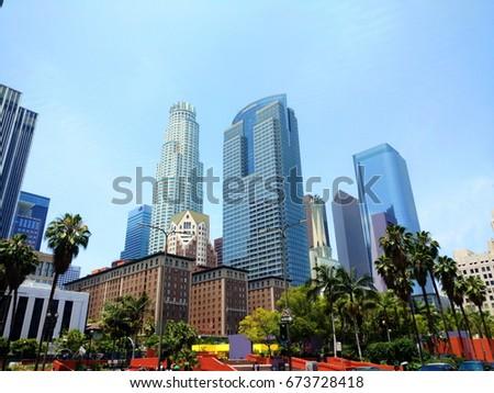 Downtown LA.