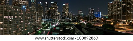 Downtown LA panorama