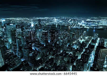 Downtown Manhattan - New York city - United states of America