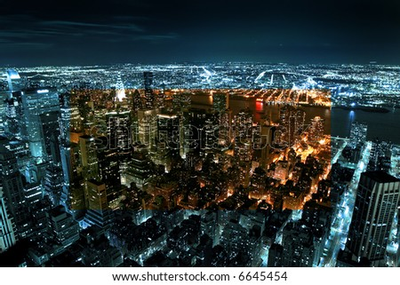 Downtown Manhattan - New York city - United states of America #6645454