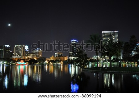 Downtown of Orlando