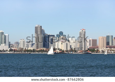 Downtown of San Diego California