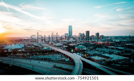 Downtown Oklahoma City - Shutterstock ID 754921501