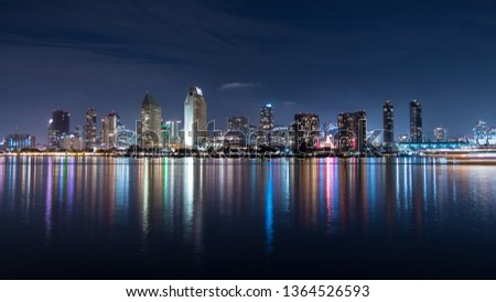 Downtown skyline, Downtown San Diego #1364526593