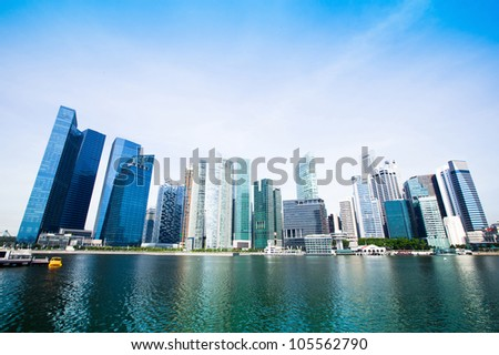 Downtown Skyline Singapore