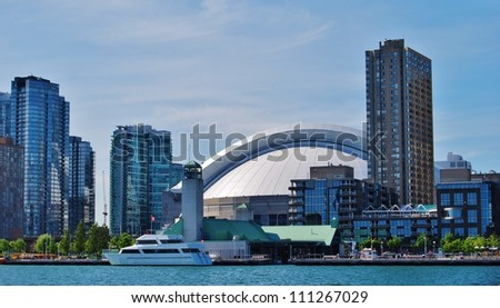Downtown Toronto Skyline  Waterfront in Canada