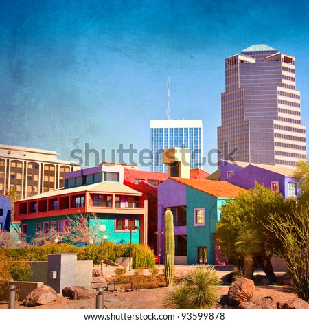 Landmarks Tucson Arizona Downtown Tucson Arizona With
