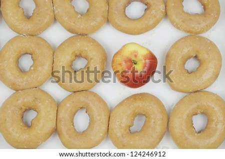 Dozen Donuts Apple Replacing One