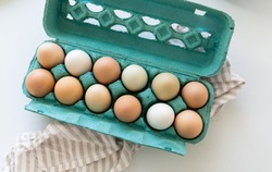 Dozen of Free Range Chicken Eggs