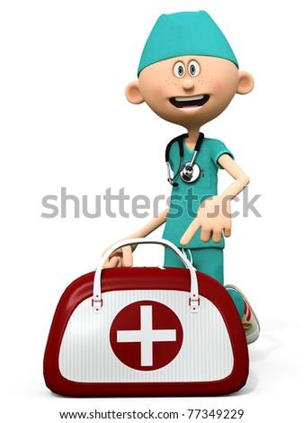 dr scrubs nurse bag