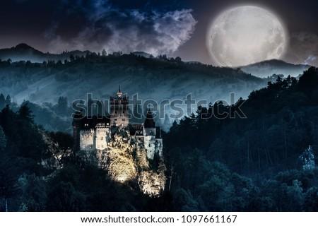 Dracula's Castle - Bran Castle, Romania.
