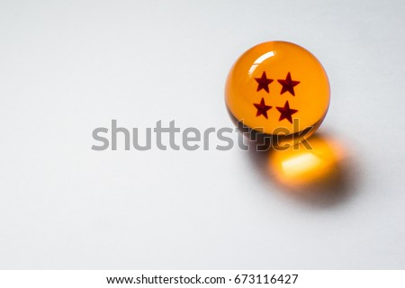 Stock Photo Dragon Ball four star sphere
