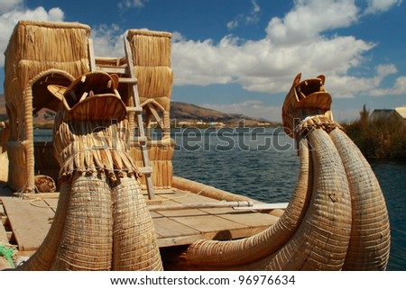 Dragon Boat on Lake Titicaca