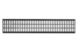 Drainage system accessories with stainless steel or plastic composite grid.