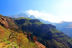 Drakensberg Dragon mountains landscape