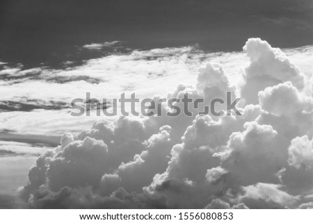 dramatic cloudscape for natural background #1556080853