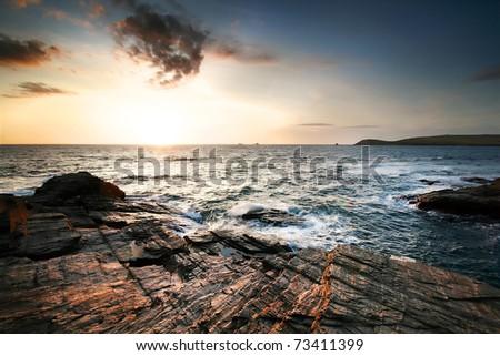 Dramatic Coastal View