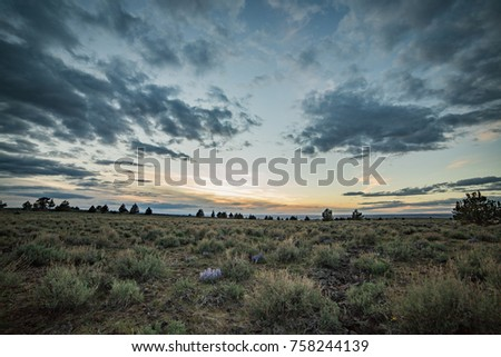 Dramatic skies on Steens Mountain #758244139