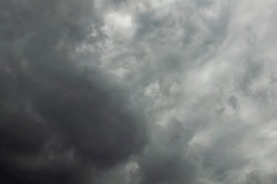 Dramatic storm, rainy and cloudy weather. Natural meteorology background.Dramatic storm, rainy and cloudy weather. Natural meteorology background. Heaven in Brazil
