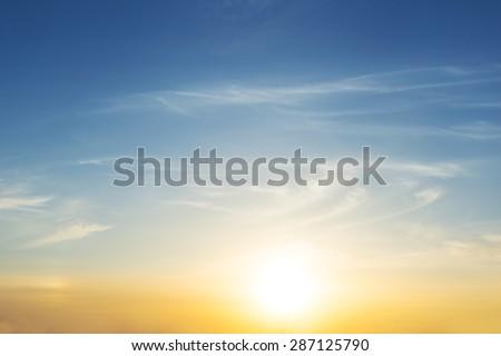 dramatic sunset background #287125790