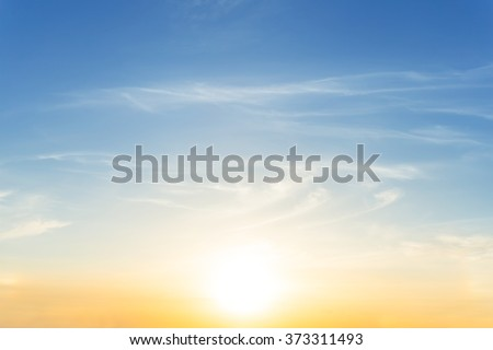 dramatic sunset evening sky background #373311493
