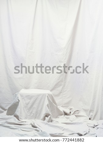 draping canvas backdrop