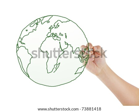 drawing a world