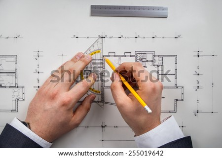 drawing architect
