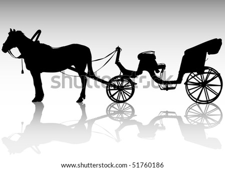 Easy Horse Carriage Drawing Drawing Carriage And Horses