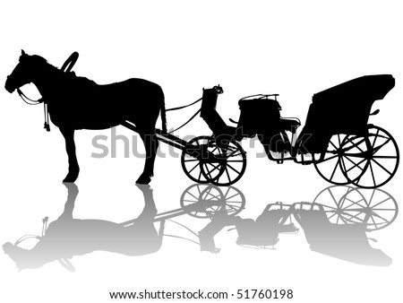 Horse And Carriage Drawing Drawing Carriage And Horses