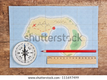 drawing maps of the coral islands