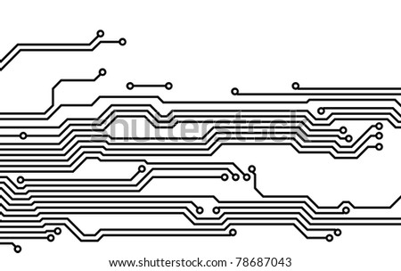 Drawing PCB (printed circuits board)