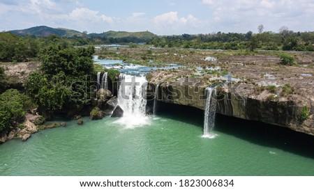 Dray Nur waterfall in Dak Lak Vietnam Stockfoto ©