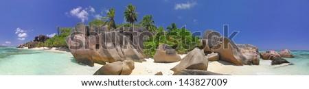 Dream Beach / Source D'Argent / La Digue, Seychelles