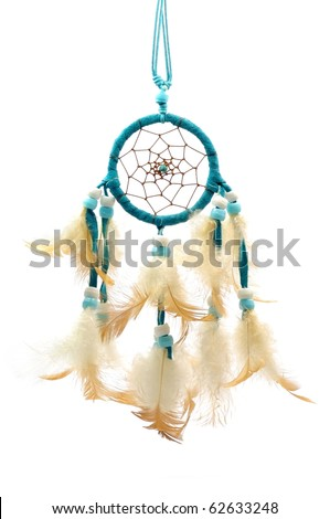 Dream catcher, an amulet of native american indian.