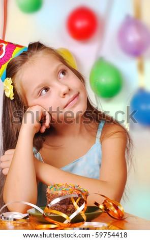 dream girl in her birthday