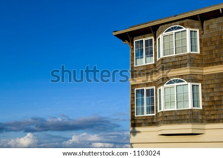 Dream house with space - stock photo