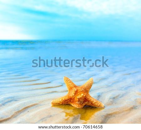 Dream Sand Landscape - stock photo