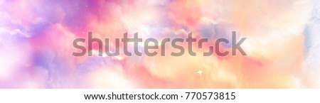 dreamy abstract background in pastel tones. joyful positive atmosphere