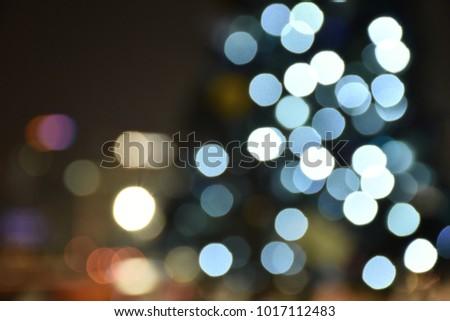 Dreamy Bokeh Lights #1017112483